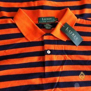 NWT Lauren Ralph Lauren Classic Fit Polo Shirt, XL